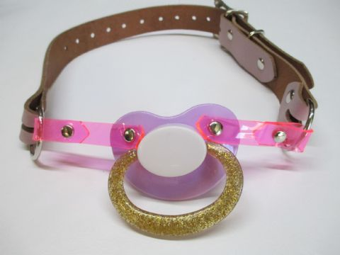 Limited Edition Special -Lilac/Pink/White/Gold  Coloured AB/DL Pacigag